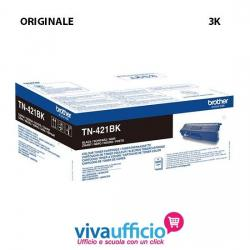 Cartuccia Toner Nero Originale TN-421BK per Brother MFC-L 8690cdw - 3.000 pagine