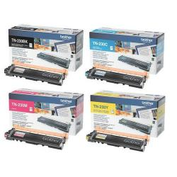 Toner Kit Originale TN-230BK-C-M-Y per Brother HL-3070, MFC-9325 - 4 COLORI