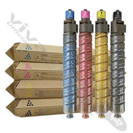Kit Quadricromia Toner B-C-M-Y Originale RICOH 842030KIT (Conf. 4 PZ.)