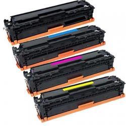 HP Cartuccia Toner Kit Colore CF540X-1X-2X-3X COMPATIBILE Alta Capacità (4 PEZZI)