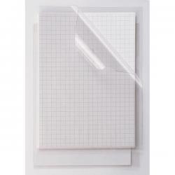 Cartelline a L Capri 61G - PVC - liscio - 23x33 cm - trasparente - Sei Rota - conf. 10 pezzi