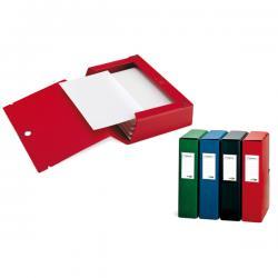 Scatola archivio Scatto - dorso 4 cm - 25x35 cm - blu - Sei Rota