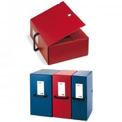 Scatola archivio Big - con maniglia - dorso 16 cm - 25x35 cm - rosso - Sei Rota