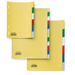 Separatore Record S - 6 tasti - PP - 21x29,7 cm - A4 - multicolore - Sei Rota