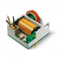 Dispenser portatutto da banco - plastica - 19x20x9 cm - Lebez