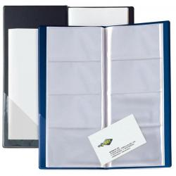 Portabiglietti Eco Visita 16 - 12,5x27,5 cm - 128 biglietti - blu - Sei Rota
