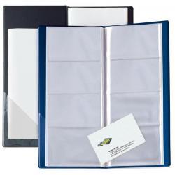 Portabiglietti Eco Visita 16 - 12,5x27,5 cm - 128 biglietti - nero - Sei Rota