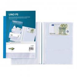 Porta scontrini e banconote Uno PS - 21x29.7 cm - blu - Sei Rota