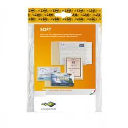 Buste a sacco Soft - PPL - 23x33 cm - liscio - trasparente - Sei Rota - conf. 25 pezzi