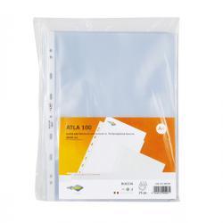 Buste forate Atla - medium - buccia - 22x30 cm - trasparente - Sei Rota - conf. 25 pezzi
