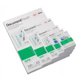 Pouches - government card - 65x95 mm - 2x125 micron - GBC - scatola 100 pezzi