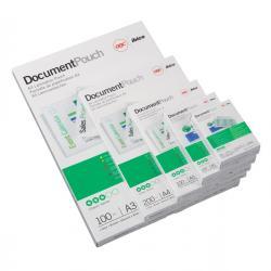 Pouches Credit Card per plastificazione - 54x86 mm - 2x250 micron - GBC - conf. 100 pezzi