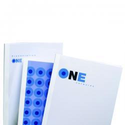 Scatole 100 cartelline termiche Optimal - 1,5mm - bianco - GBC