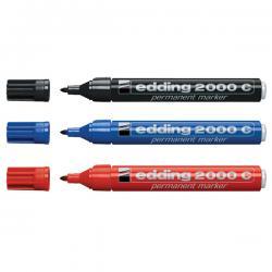 Marcatore Edding 2000c - punta tonda da 1,5mm a 3,0mm - blu - Edding