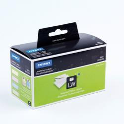 Rotolo 130 etichette LW 990110 - 28x89mm - carta - colori assortiti - Dymo - Conf. 4 rotoli