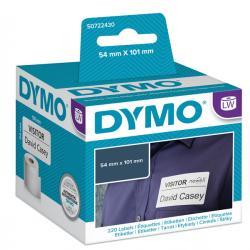 Rotolo 220 etichette LW - 990140 - 54x101mm - spedizione/badge - Dymo