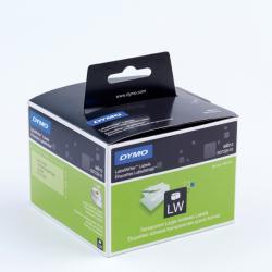 Rotolo 260 etichette LW 990130 - 36x89mm - plastica trasparente - indirizzi estesi - Dymo