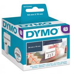 Rotolo 320 etichette LW - 990150 - 54x70mm - Dymo