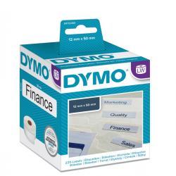 Rotolo 220 etichette LW - 990170 - 50x12mm - cartelle sospese - Dymo