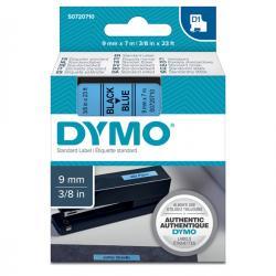 Nastro D1 - 409160 - 9mmx7mt - nero/blu - Dymo