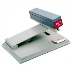 Cucitrice da tavolo Zenith 502 - capacità massima 35 fogli - profondità cucitura 108 mm - grigio - Zenith
