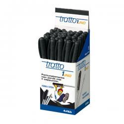 Penna a sfera - punta media 0,5mm - nero - Tratto - conf. 50 pezzi