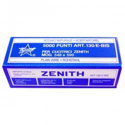 Punti 130/E bis - 6/4 - acciaio naturale - metallo - Zenith - conf. 5000 pezzi