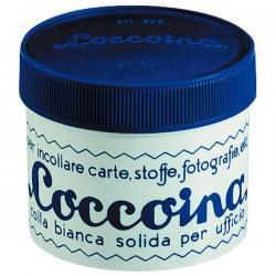 Colla in pasta - barattolo in plastica - pasta adesiva - 50 gr - bianco - Coccoina