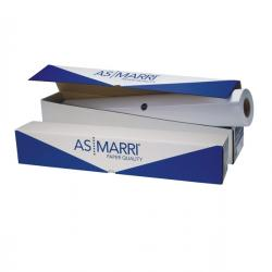 Carta Inkjet plotter J.90S - 625mm x 50mt - 90gr - opaca - As Marri
