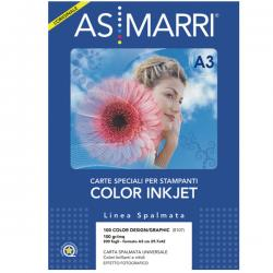 Carta inkjet - A3 - 100gr - color design - patinata - As Marri - conf. 200fg
