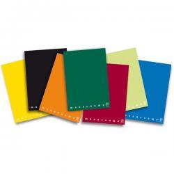 Quaderno Monocromo - A5 - quadretto 5mm con margine - 42 fogli - 80gr - Pigna