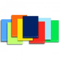 Maxiquaderno Monocromo - A4 - quadretto 5mm con margine - 42 fogli - 80gr - Pigna