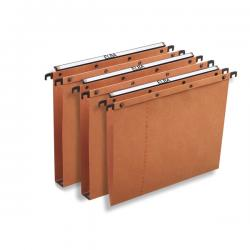 Cartella sospesa - cassetto Ultimate® - interasse 33 cm - fondo V - 31,6x25 cm - arancio - Favorit