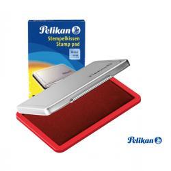 Cuscinetto per timbri - 7x11 cm - rosso - Pelikan