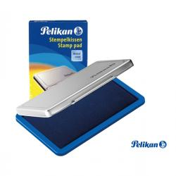 Cuscinetto per timbri - 9x16 cm - blu - Pelikan