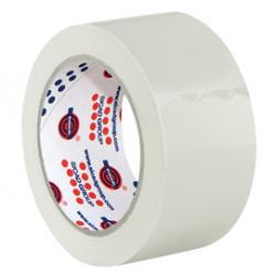 Nastro adesivo PVC 330 - 50 mm - bianco - Eurocel - rotolo da 66 m