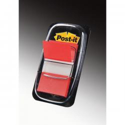 Segnapagina Post it® Index Medium - 25,4x43,2 mm - rosso - Post it® - conf. 50 pezzi