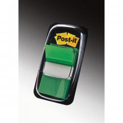 Segnapagina Post-it® Index Medium - 25,4x43,2 mm - verde - Post-it - conf. 50 pezzi