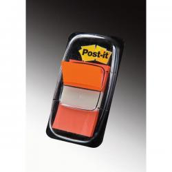 Segnapagina Post-it® Index Medium - 25,4x43,2 mm - arancio - Post-it - conf. 50 pezzi