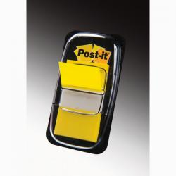 Segnapagina Post-it® Index Medium - 25,4x43,2 mm - giallo - Post-it - conf. 50 pezzi