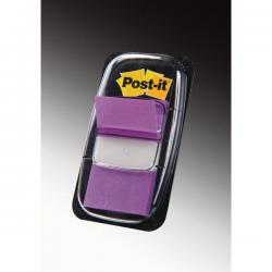 Segnapagina Post-it® Index Medium - 25,4x43,2 mm - porpora - Post-it - conf. 50 pezzi