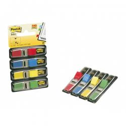 Segnapagina Post-it® Index Mini - 12x43,2 mm - 4 colori classici - Post-it - conf. 140 pezzi