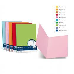 Cartelline semplici Luce - 200 gr - 25x34 cm - arancio - Favini - conf. 50 pezzi