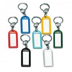Targhette portachiavi girevoli - colori assortiti - Lebez - conf. 100 pezzi