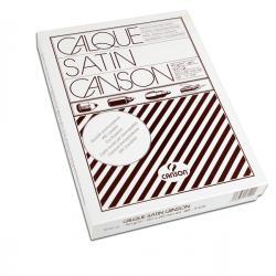 Carta lucida satinata per disegno manuale - A4 - 500 fogli - 90/95gr - per fotocopie/stampe laser - Canson
