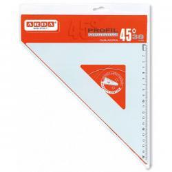 Squadra Profil - 45gradi - 30cm - alluminio - Arda