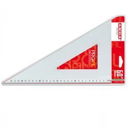 Squadra Profil - 60gradi - 30cm - alluminio - Arda