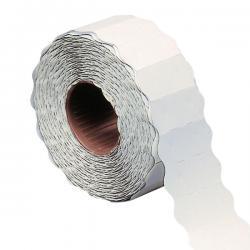 Etichetta a onda - permanente - 26x12 mm - bianco - Markin - rotolo da 1000 etichette