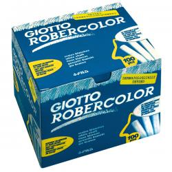 Scatola 100 gessetti tondi - bianco - Giotto