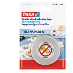 Nastro biadesivo - 10 mt x 12 mm - trasparente - Tesa®